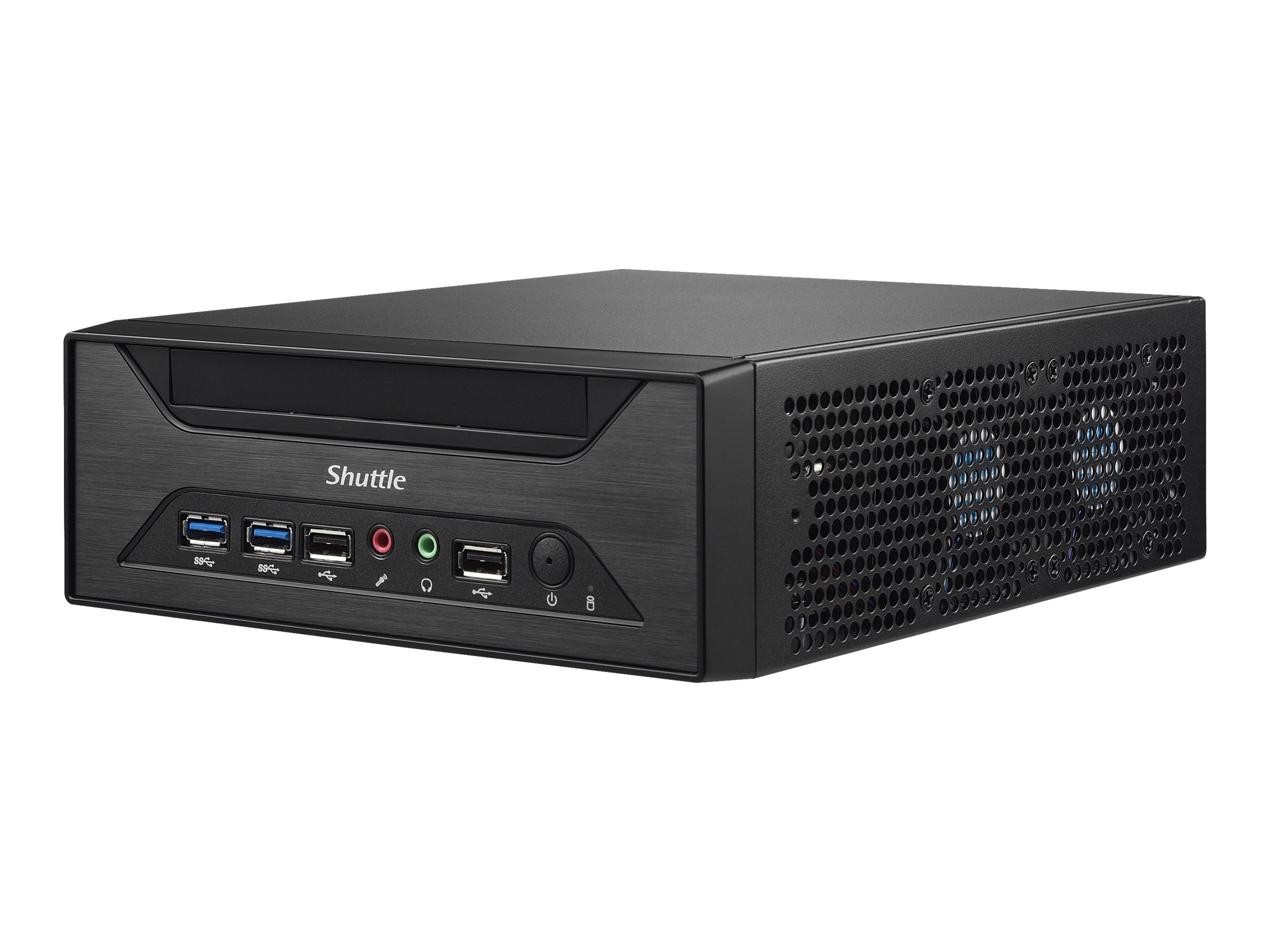 Shuttle XPC slim XH310 - Barebone - Slim-PC - LGA1151 Socket - Intel H310 - GigE