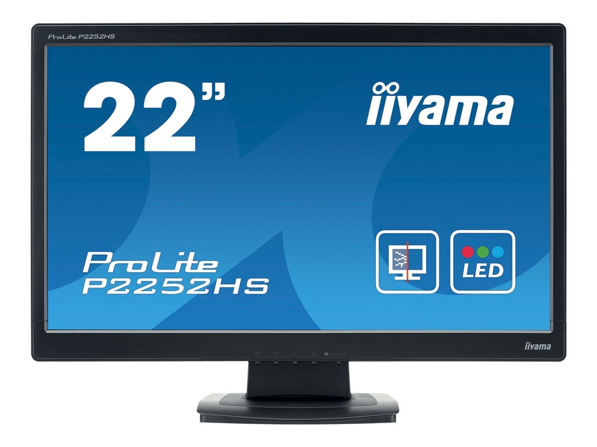 iiyama ProLite P2252HS-B1 - LED-Monitor - 55.9 cm (22