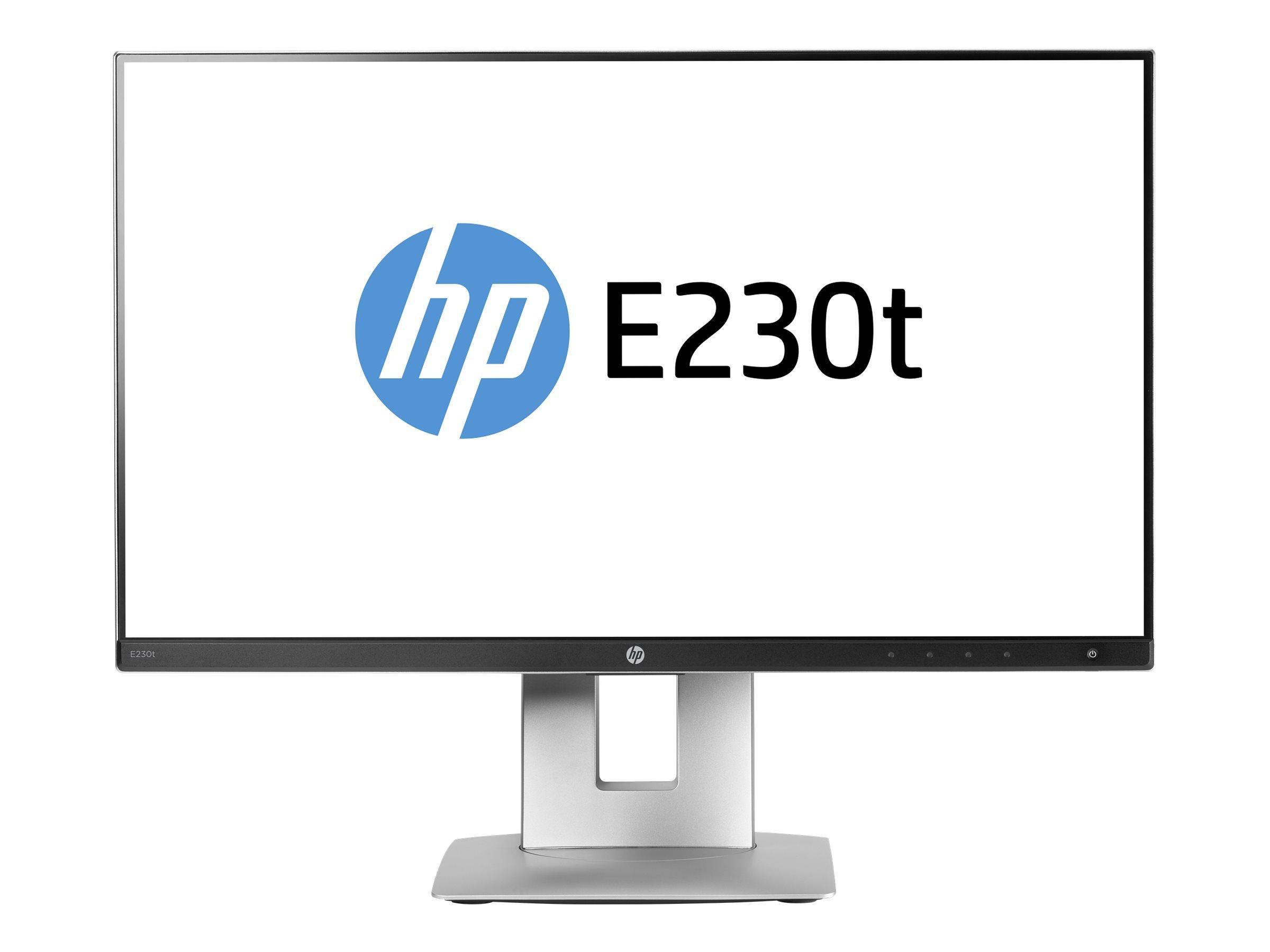 HP EliteDisplay E230t - LED-Monitor - 58.42 cm (23