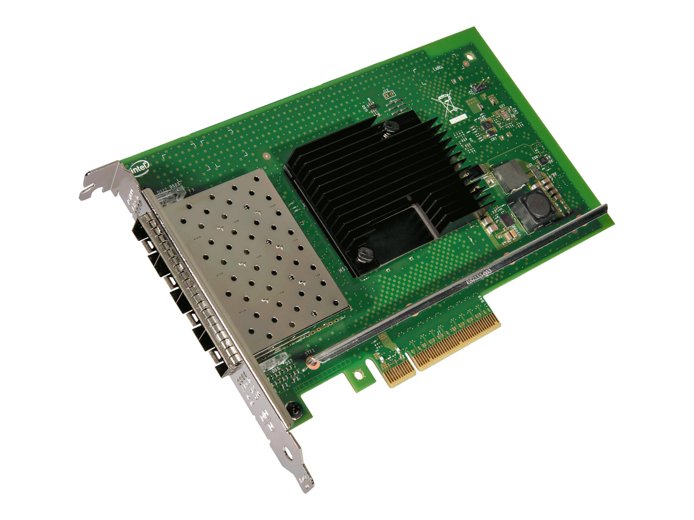 Intel Ethernet Converged Network Adapter X710-DA4 - Netzwerkadapter - PCIe 3.0 x8 Low-Profile - 10 Gigabit SFP+ x 4