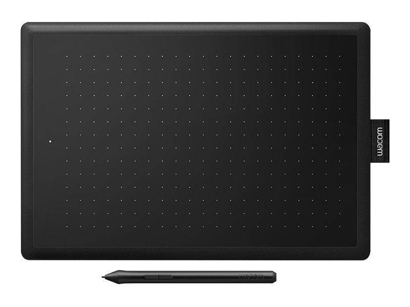 One by Wacom Medium - Digitalisierer - rechts- und linkshändig - 21.6 x 13.5 cm - elektromagnetisch - kabelgebunden