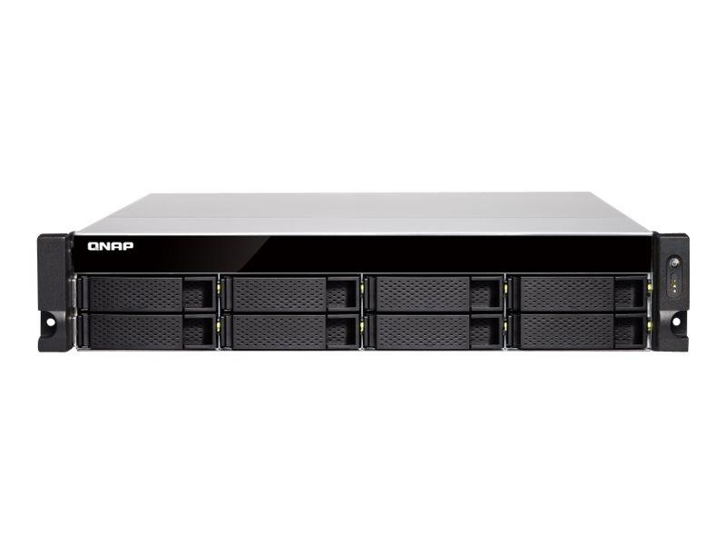 QNAP TVS-872XU-RP - NAS-Server - 8 Schächte - Rack - einbaufähig - SATA 6Gb/s
