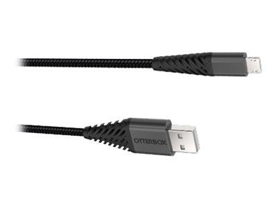 OtterBox - USB-Kabel - Micro-USB Typ B (M) bis USB (M) - 2.4 A - 1 m