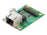 Moxa MiiNePort E3-T - Geräteserver - 100Mb LAN, Seriell - Plug-in-Modul