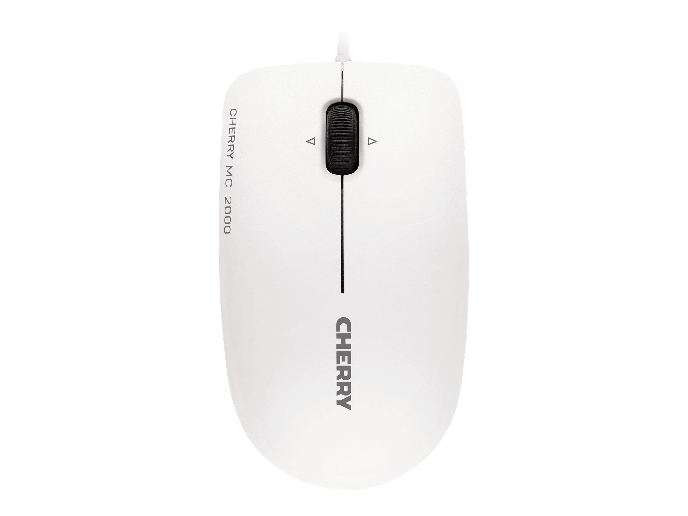 CHERRY MC 2000 - Maus - rechts- und linkshändig - Infrarot - 3 Tasten - kabelgebunden