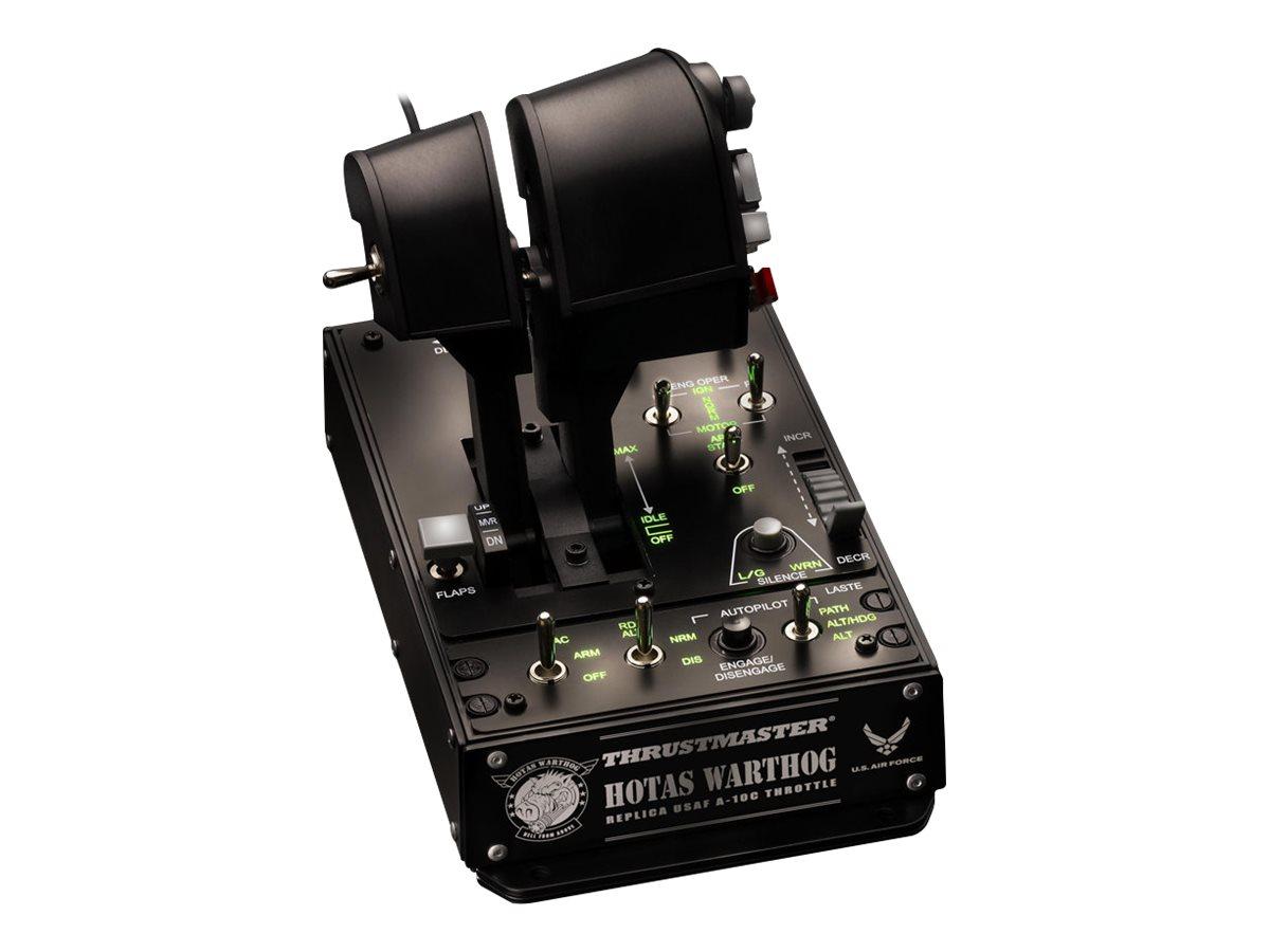 Thrustmaster HOTAS Warthog Dual - Gasregler - 16 Tasten - kabelgebunden - für PC