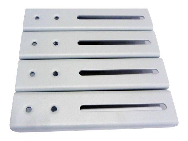 NewStar FPMA-VESA800 - Montagekomponente (VESA Adapterplatte) für LCD-/Plasmafernseher - Silber - Bildschirmgrösse: 68.6-152.4 c