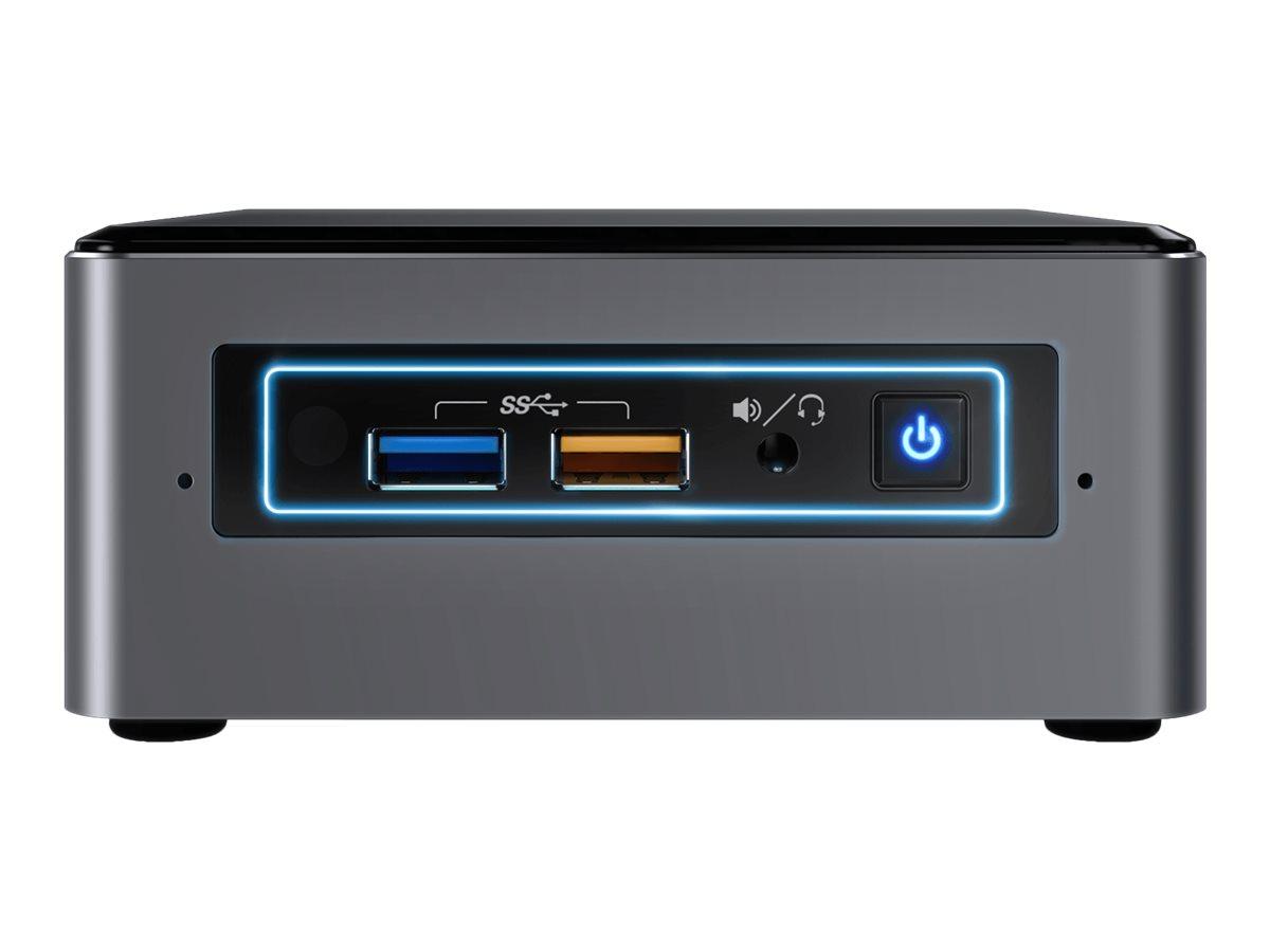 Intel Next Unit of Computing Kit NUC7I3BNHXF - Mini-PC - 1 x Core i3 7100U / 2.4 GHz - RAM 4 GB - HDD 1 TB - HD Graphics 620