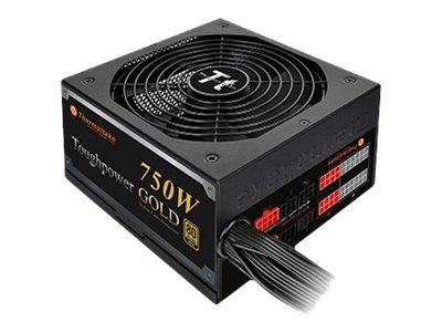 Thermaltake ToughPower 750W GOLD (Modular) - Stromversorgung (intern) - ATX12V 2.3/ EPS12V 2.92 - 80 PLUS Gold - Wechselstrom 10