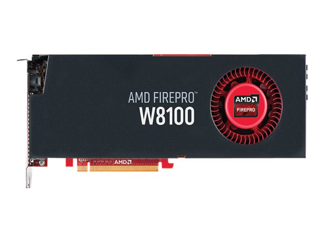 AMD FirePro W8100 - Grafikkarten - FirePro W8100 - 8 GB GDDR5 - PCIe 3.0 x16 - 4 x DisplayPort