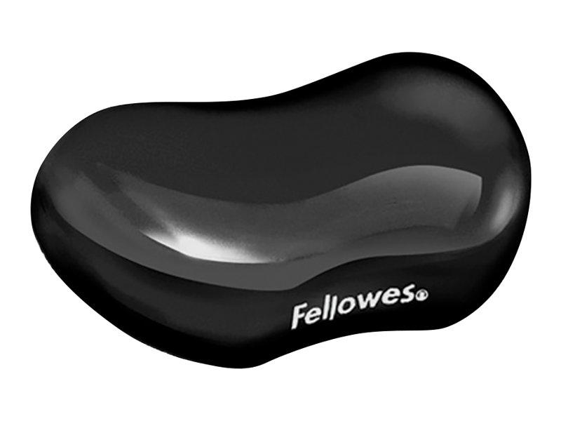 Fellowes Gel Crystals Flex Rest - Handgelenkkissen - Schwarz