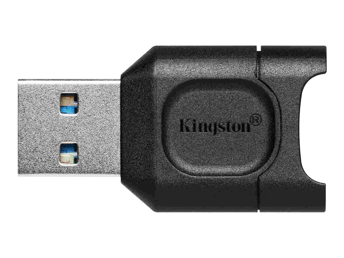 Kingston MobileLite Plus - Kartenleser (microSD, microSDHC, microSDXC, microSDHC UHS-I, microSDXC UHS-I, microSDHC UHS-II, micro