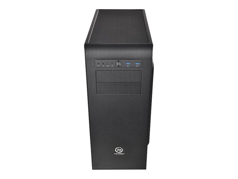 Thermaltake Core V41 - Midi Tower - ATX - ohne Netzteil (PS/2) - Schwarz - USB/Audio