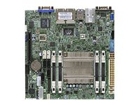 SUPERMICRO A1SRi-2558F - Motherboard - Mini-ITX - Intel Atom C2558 - USB 3.0 - 4 x Gigabit LAN