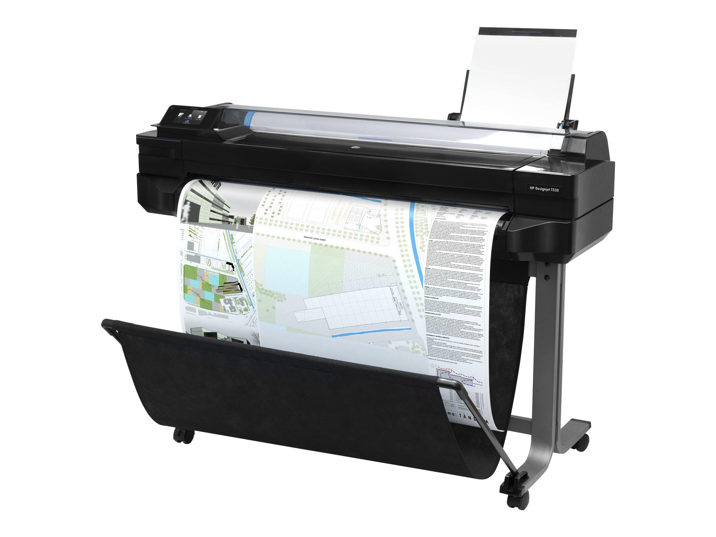 HP DesignJet T520 ePrinter - 914 mm (36
