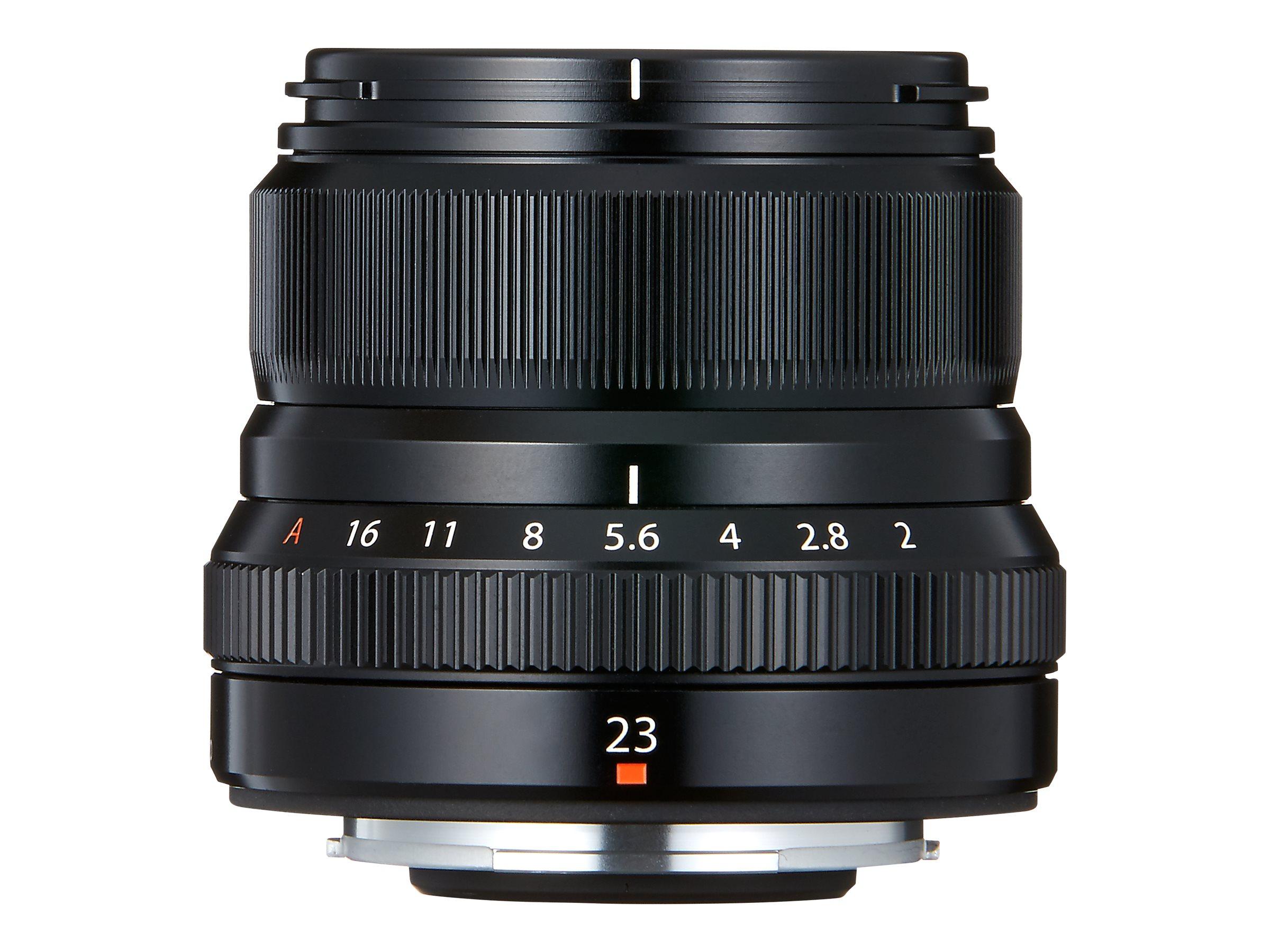 Fujinon XF - Weitwinkelobjektiv - 23 mm - f/2.0 R WR - Fujifilm X Mount - für X Series X-A10, X-A5, X-E3, X-H1, X-T100, X-T3, X-