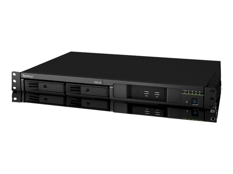 Synology RackStation RS214 - NAS-Server - 2 Schächte - Rack - einbaufähig - SATA 3Gb/s