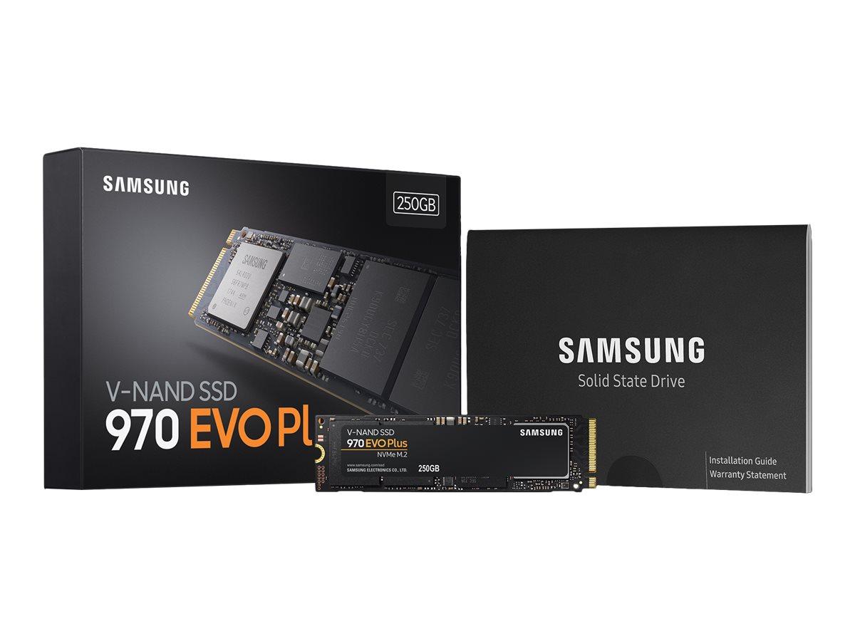 Samsung 970 EVO Plus MZ-V7S250BW - Solid-State-Disk - verschlüsselt - 250 GB - intern - M.2 2280