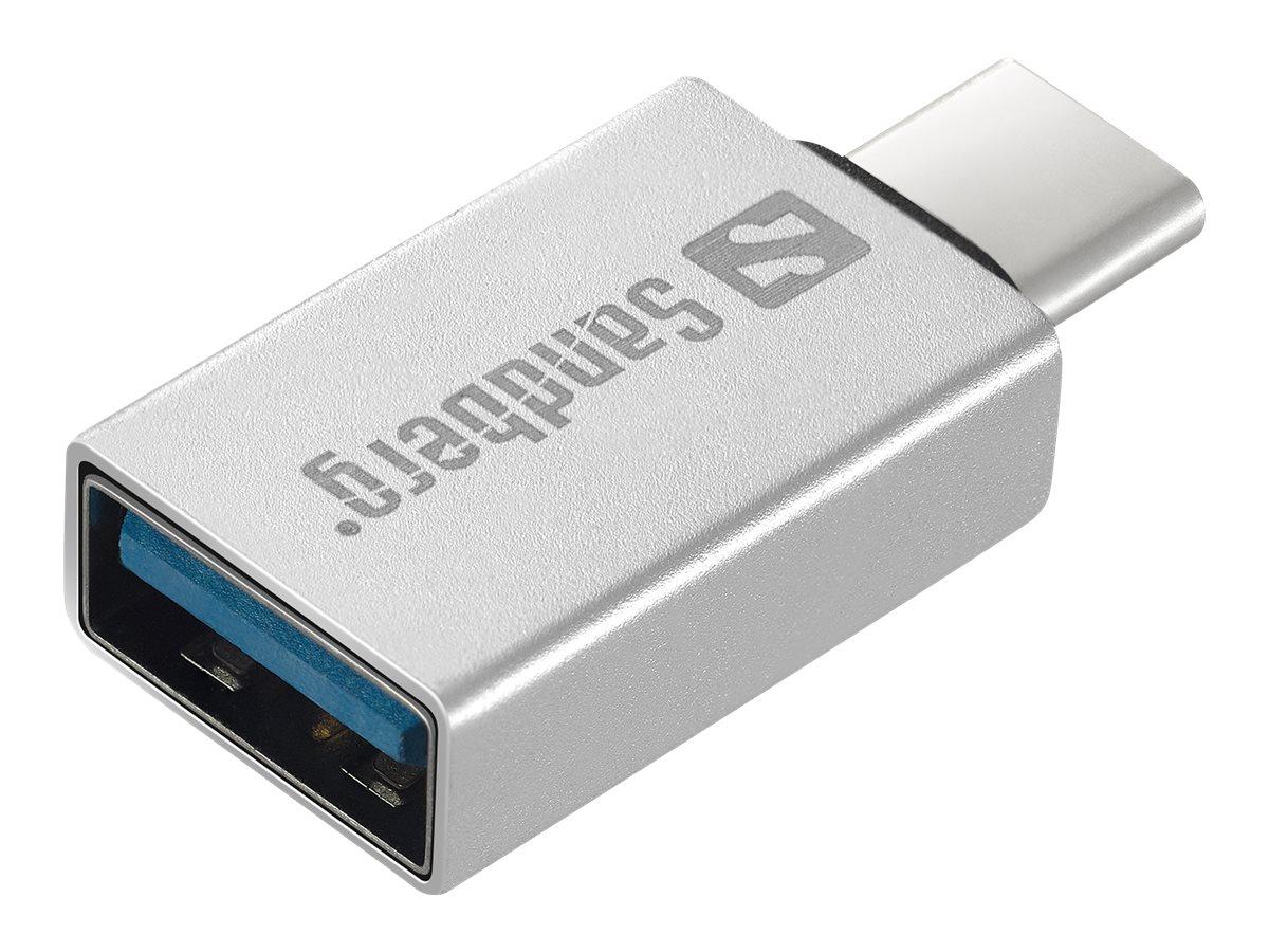 Sandberg - USB-Adapter - USB-C (M) bis USB Typ A (W) - USB 3.1 Gen 1