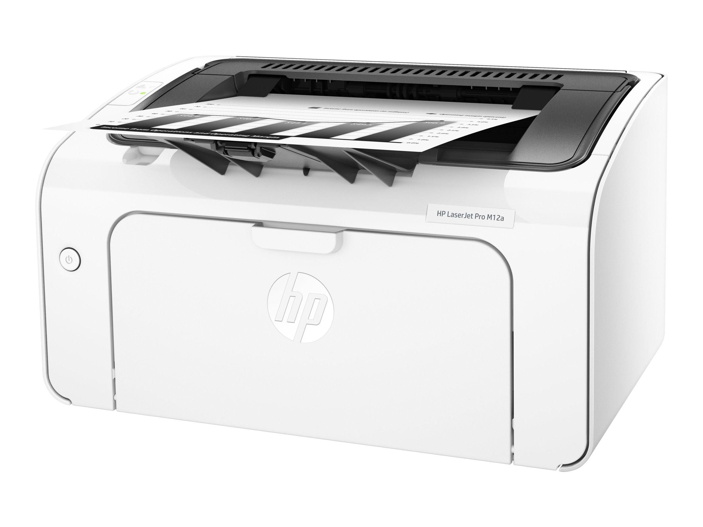 HP LaserJet Pro M12a - Drucker - monochrom - Laser - A4/Legal - 600 x 600 dpi