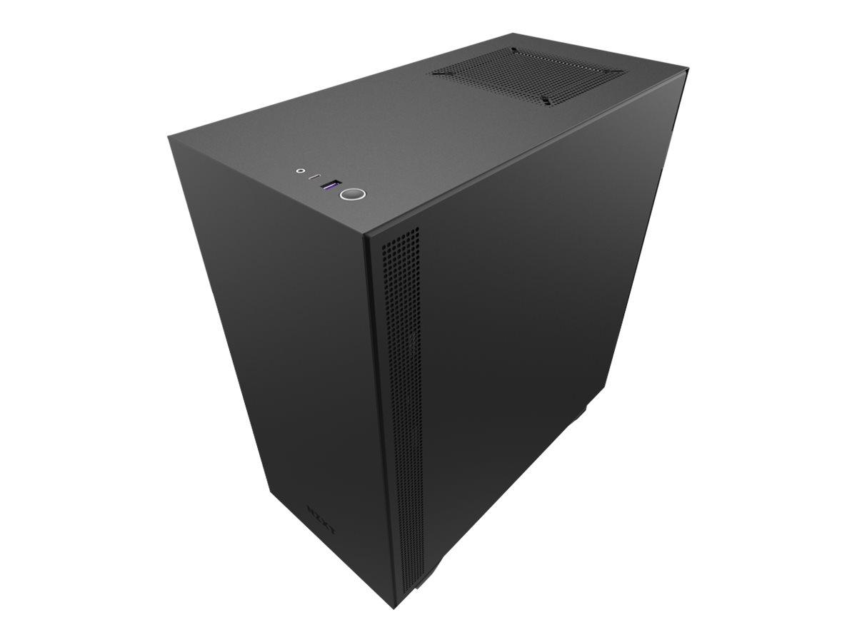 NZXT H series H510 - Tower - ATX - ohne Netzteil - Rot, mattschwarz - USB/Audio