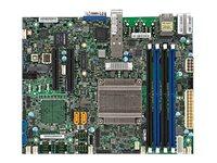 SUPERMICRO X10SDV-2C-TP4F - Motherboard - FlexATX - Intel Pentium D1508 - USB 3.0 - 2 x 10 Gigabit LAN, 2 x Gigabit LAN