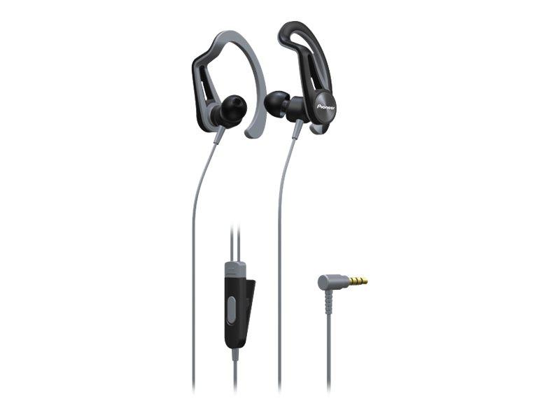 Pioneer SE-E5T - Ohrhörer mit Mikrofon - im Ohr - über dem Ohr angebracht - kabelgebunden - 3,5 mm Stecker