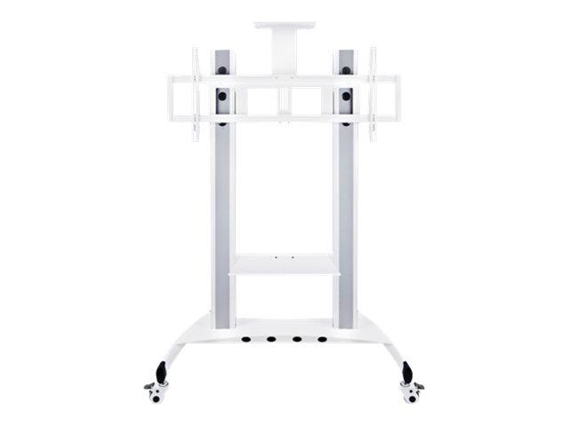 Multibrackets M Public Floorstand Camera Holder HD - Montagekomponente (Regal) für Videokonferenz-Kamera - weiss
