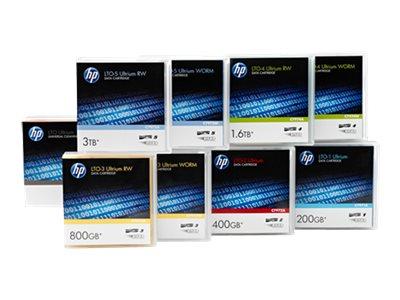 HPE Ultrium RW Eco Case Data Cartridge - 20 x LTO Ultrium 6 - 2.5 TB / 6.25 TB - Beschriftungsetiketten - lila - für StorageWork
