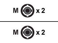 DIGITUS - Patch-Kabel - ST multi-mode (M) bis ST multi-mode (M) - 5 m - Glasfaser - 50/125 Mikrometer