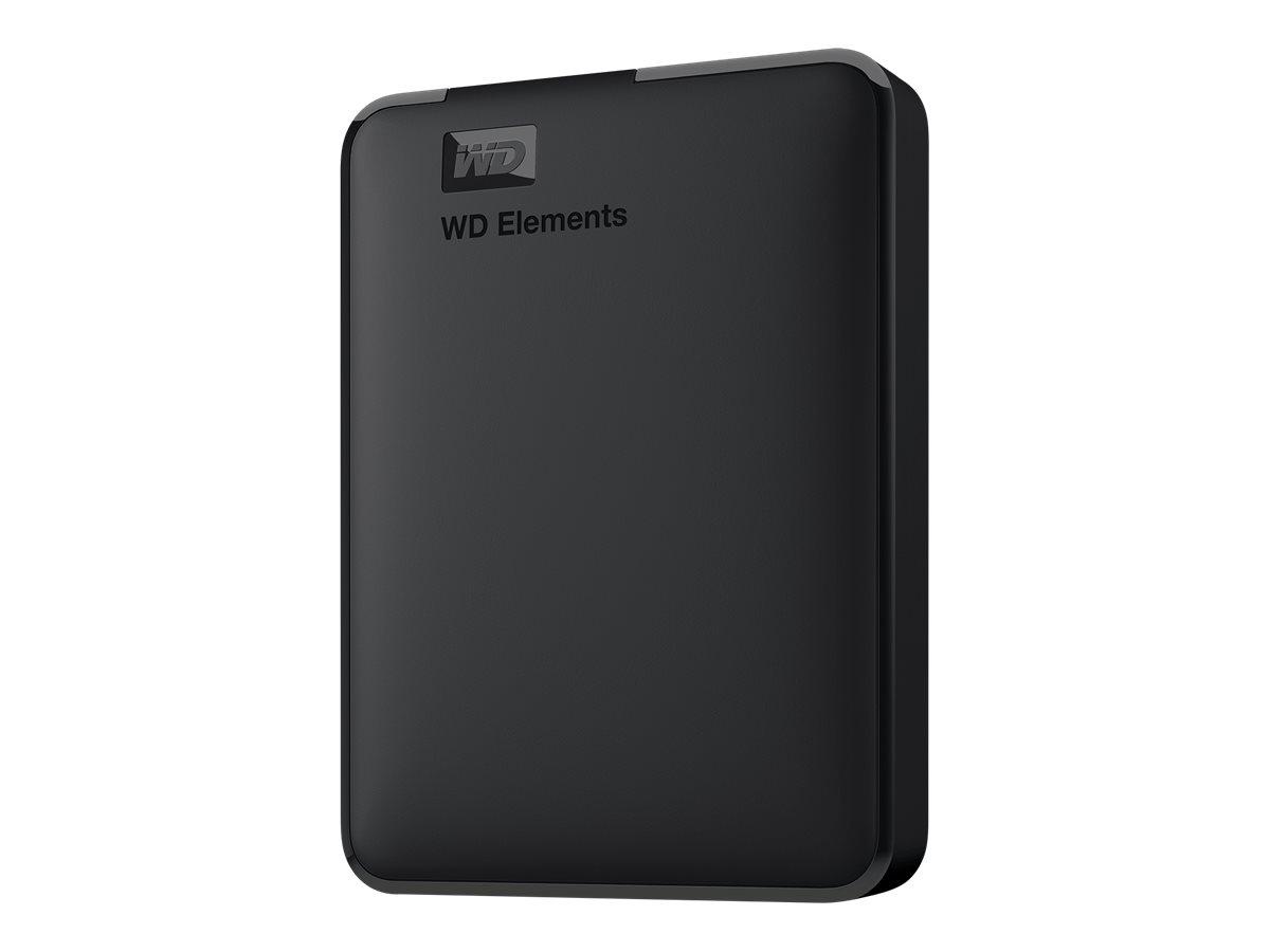 WD Elements Portable WDBU6Y0040BBK - Festplatte - 4 TB - extern (tragbar) - USB 3.0