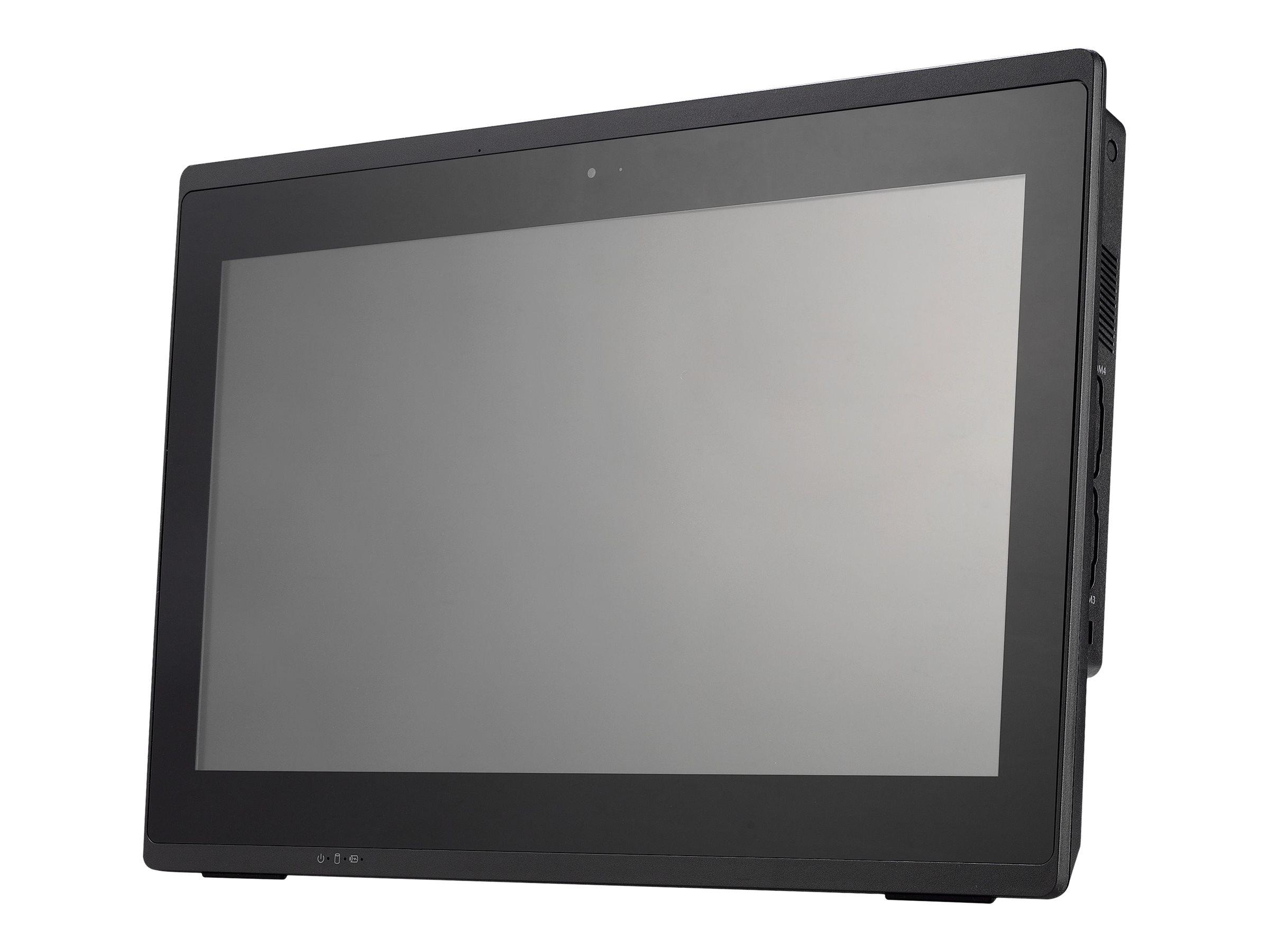 Shuttle XPC POS P511 - All-in-One (Komplettlösung) - 1 x Celeron 4205U / 1.8 GHz ULV - RAM 4 GB - SSD 120 GB - HD Graphics 610