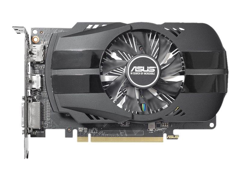 ASUS PH-RX550-4G-M7 - Grafikkarten - Radeon RX 550 - 4 GB GDDR5 - PCIe 3.0 x16 - DVI, HDMI, DisplayPort
