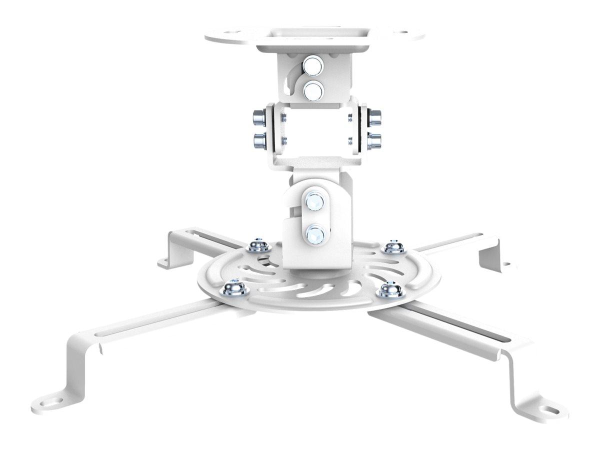 PureMounts PM-SPIDER-10W - Klammer - für Projektor - Stahl - weiss - Deckenmontage