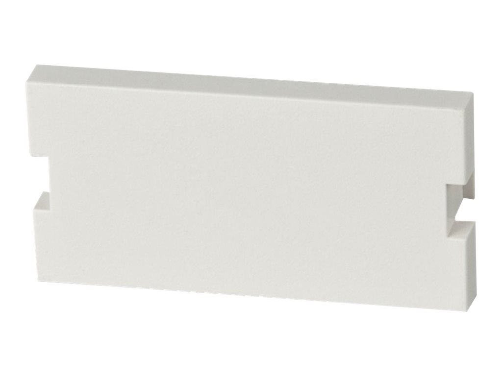 LINDY Snap in Blanking Plate - Front-Blindabdeckung - weiss (Packung mit 2)