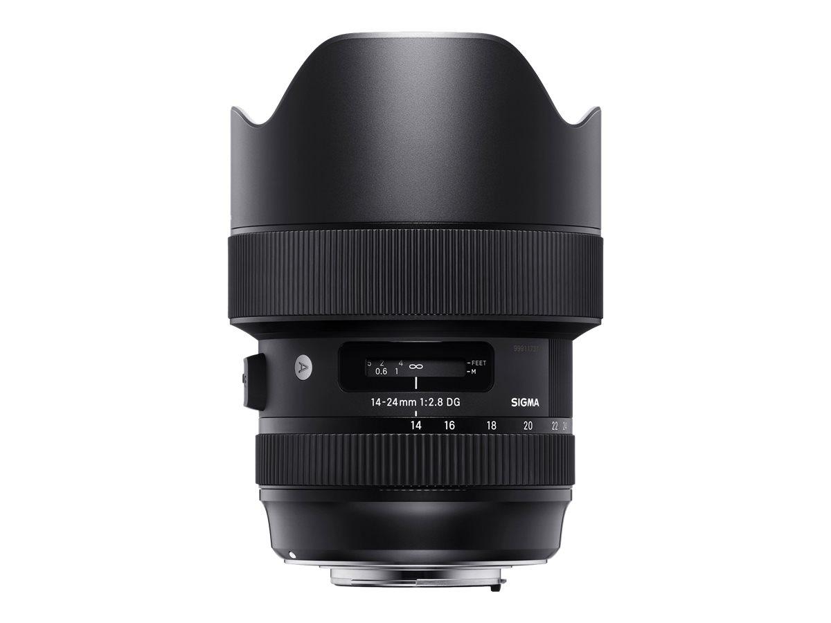 Sigma Art - Weitwinkel-Zoom-Objektiv - 14 mm - 24 mm - f/2.8 DG HSM - Canon EF