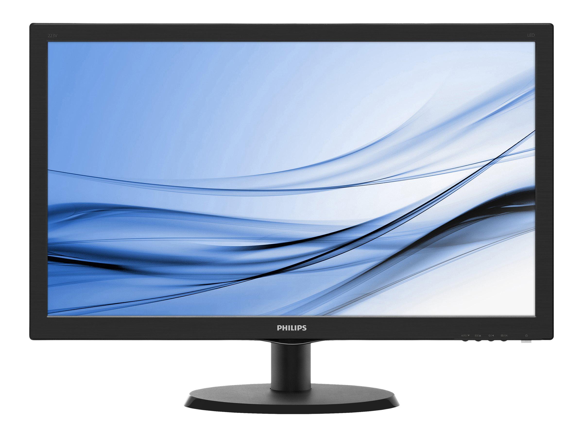 Philips V-line 223V5LHSB - LED-Monitor - 54.6 cm (21.5