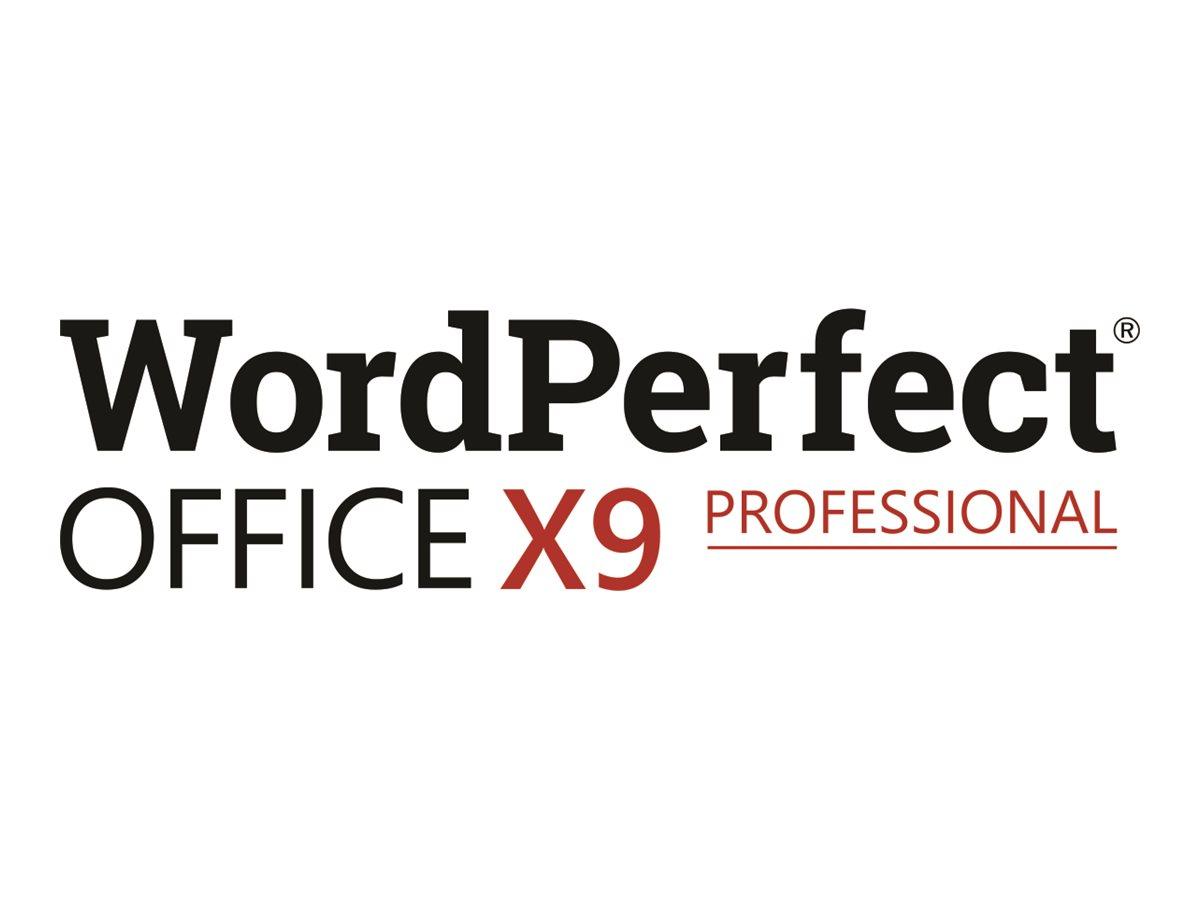 WordPerfect Office X9 Professional Edition - Lizenz - 1 Benutzer - Win - Multi-Lingual