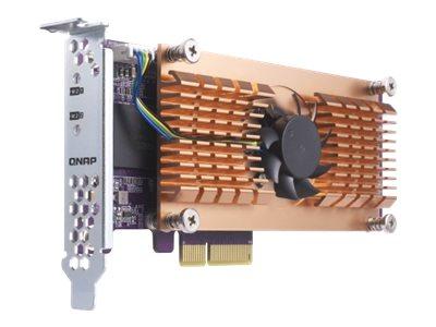 QNAP QM2-2P - Speicher-Controller - M.2 - PCIe Low-Profile - PCIe 2.0 x4 - für VioStor VS-2280-PRO+