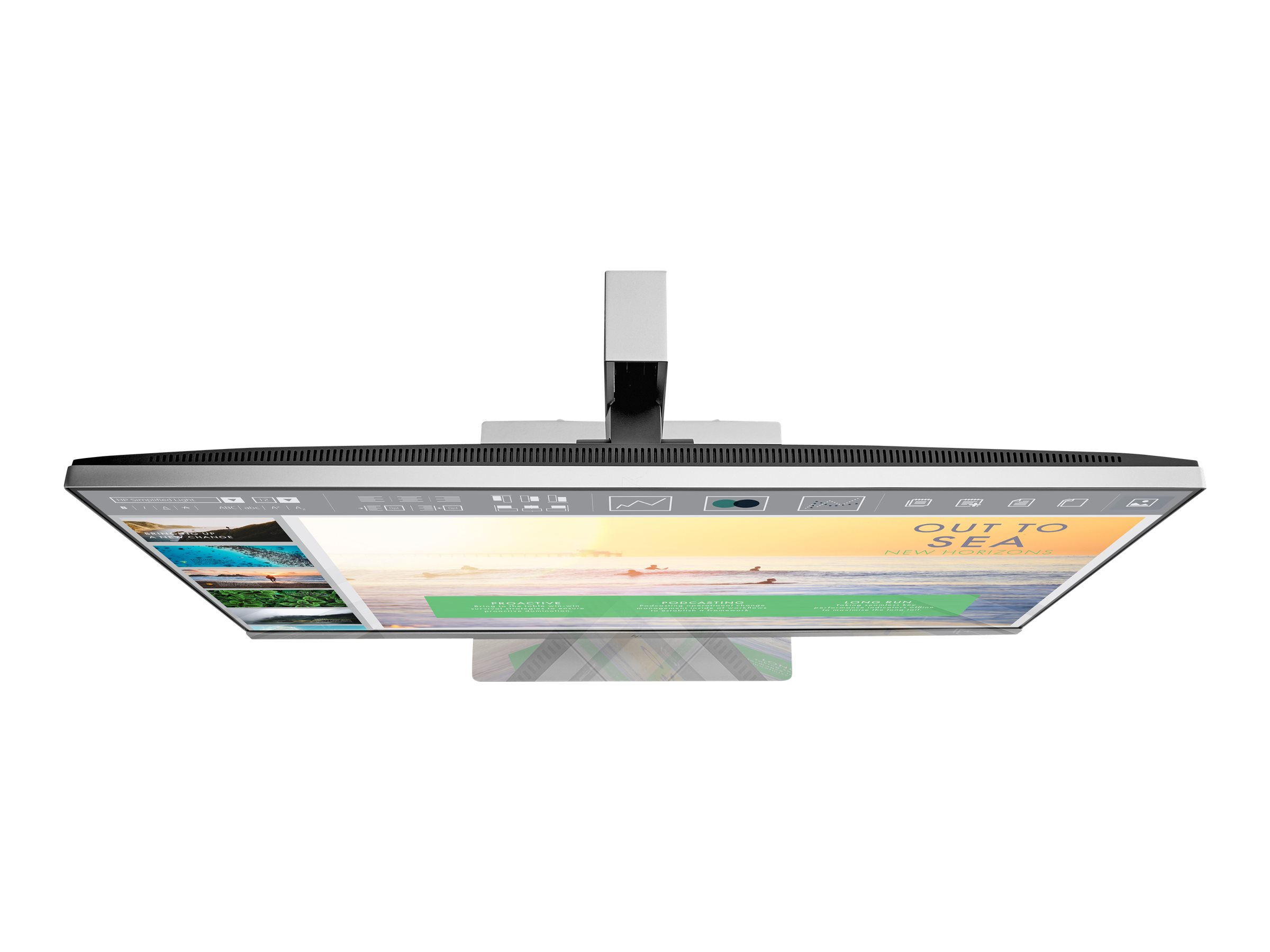 HP EliteDisplay E233 - Head Only - LED-Monitor - 58.42 cm (23