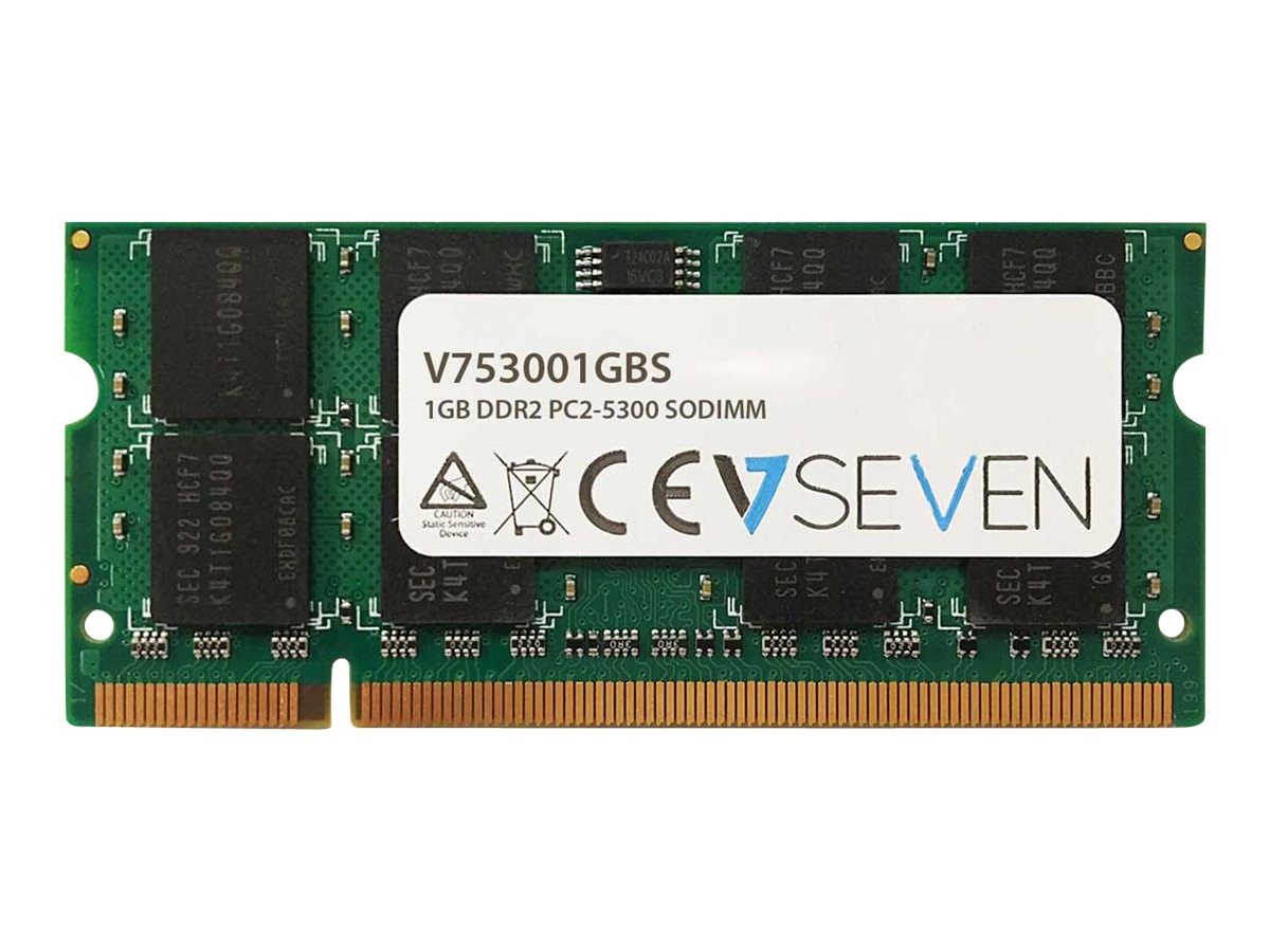 V7 - DDR2 - 1 GB - SO DIMM 200-PIN - 667 MHz / PC2-5300 - ungepuffert