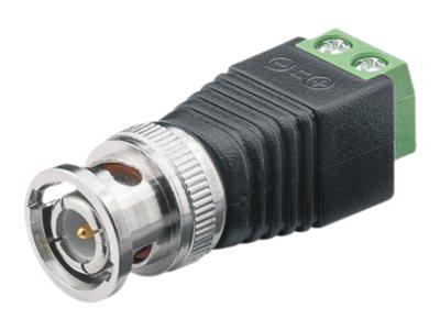 M-CAB - Video-/Audioanschluss - BNC (M) bis 2-polige Klemmleiste schraubbar (Packung mit 10)