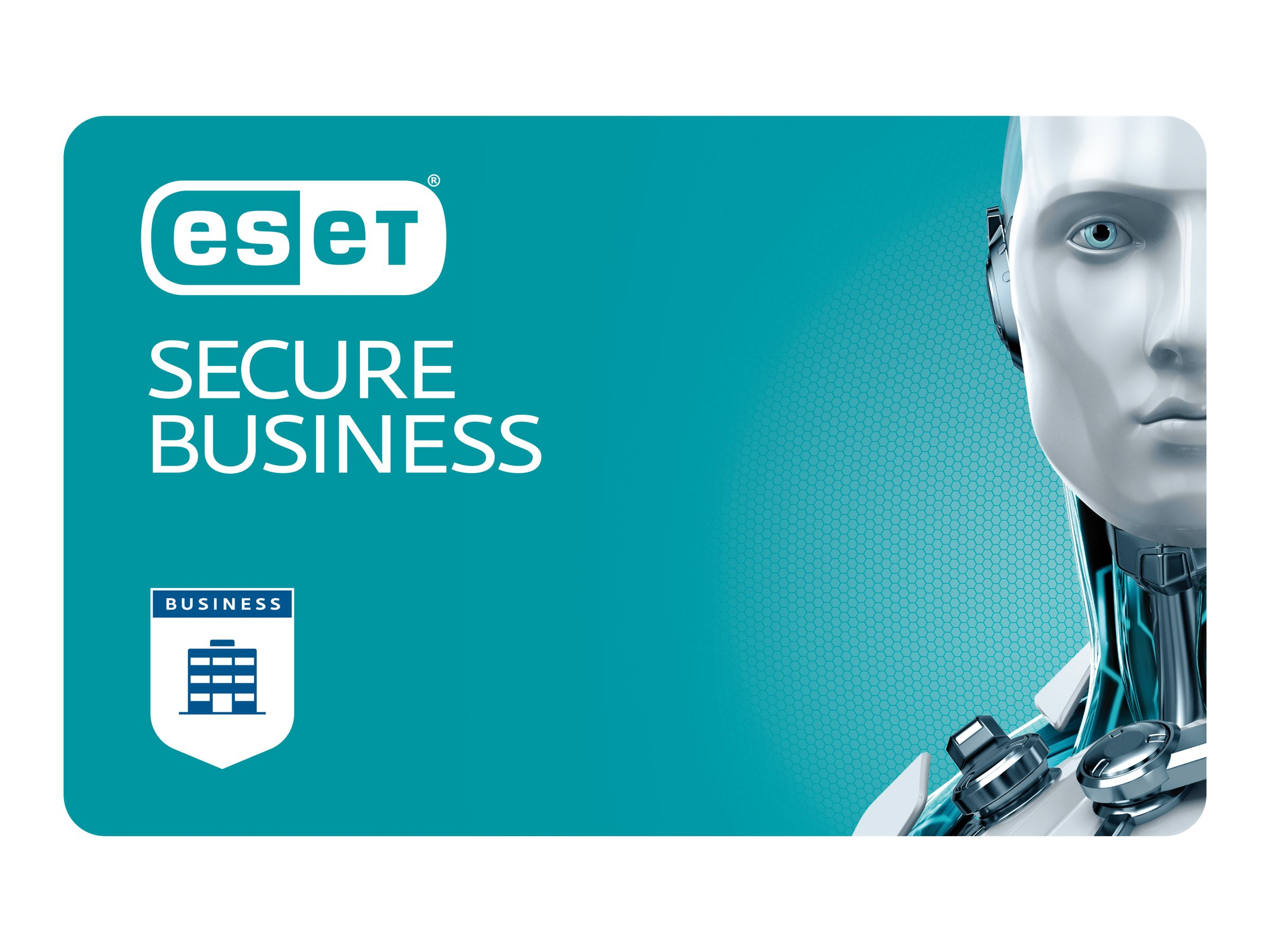ESET Secure Business - Abonnement-Lizenz (2 Jahre) - 1 Platz - Volumen - 100-249 Lizenzen - Linux, Win, Mac, Android, iOS