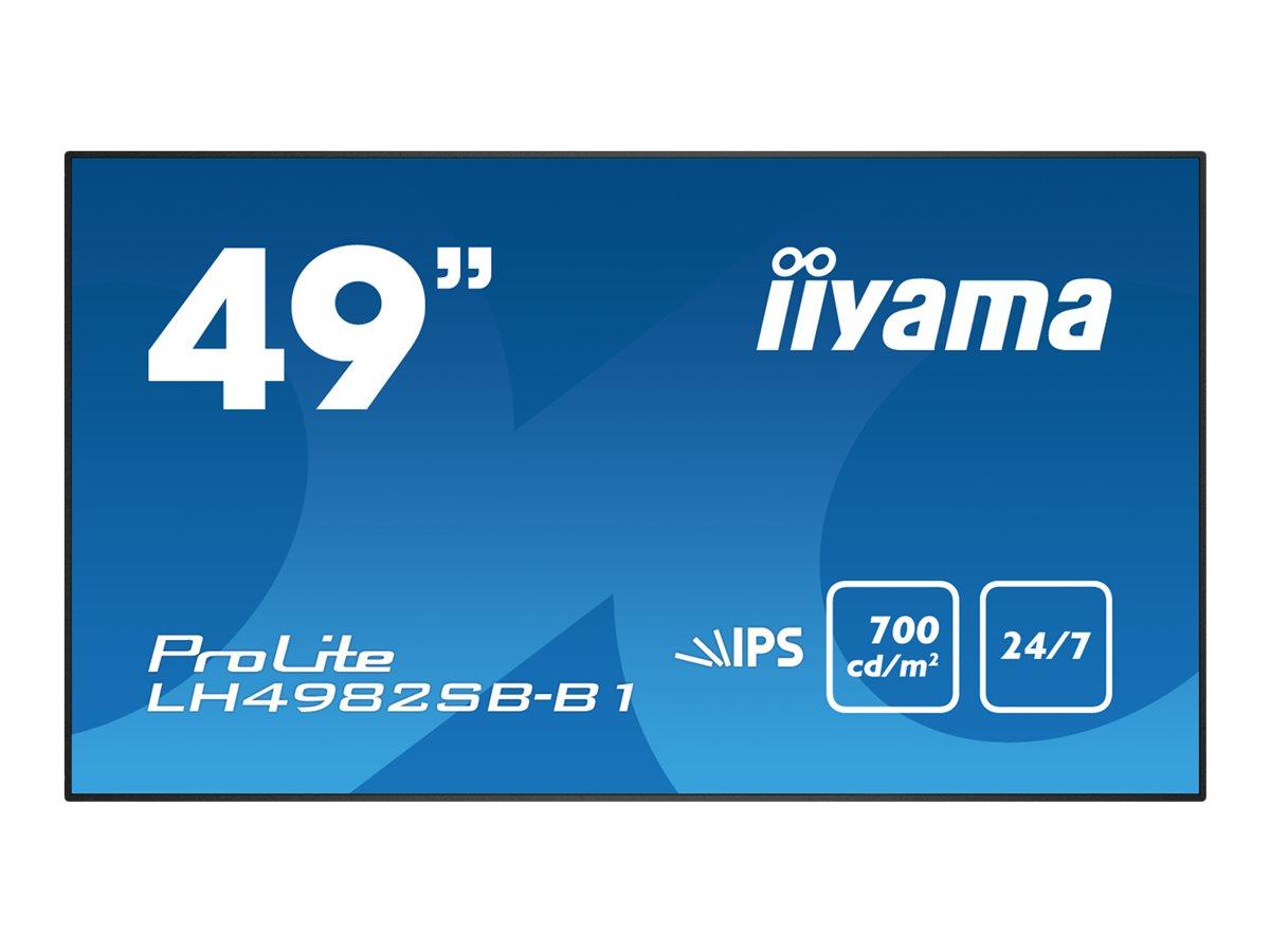 iiyama ProLite LH4982SB-B1 - 124.5 cm (49