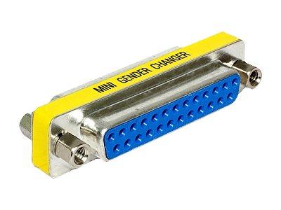 DeLOCK Adapter Sub-D - Serieller / paralleler Gender Changer - DB-25 (W) bis DB-25 (W)