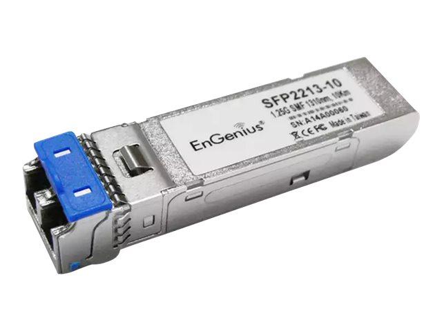 EnGenius SFP Series SFP2213-10 - SFP (Mini-GBIC)-Transceiver-Modul - GigE - 1000Base-LX - LC Single-Modus - bis zu 10 km