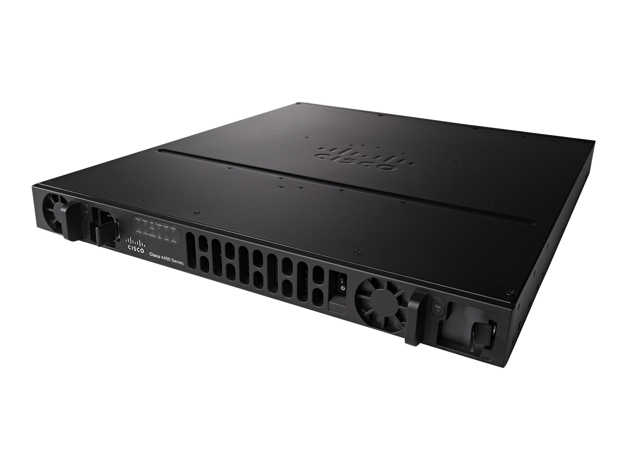 Cisco Integrated Services Router 4431 - Voice Security Bundle - Router - GigE - WAN-Ports: 4 - an Rack montierbar