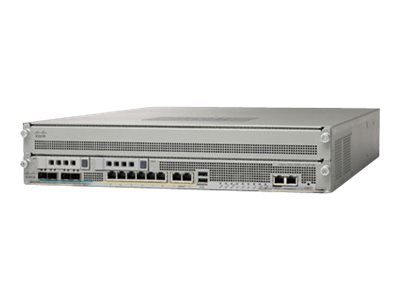 Cisco ASA 5585-X Firewall Edition SSP-60 bundle - Sicherheitsgerät - 10 GigE - 2U - Rack-montierbar