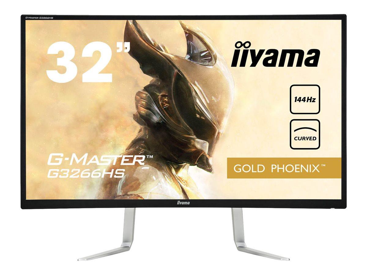 iiyama G-MASTER Gold Phoenix G3266HS-B1 - LED-Monitor - gebogen - 81.3 cm (32