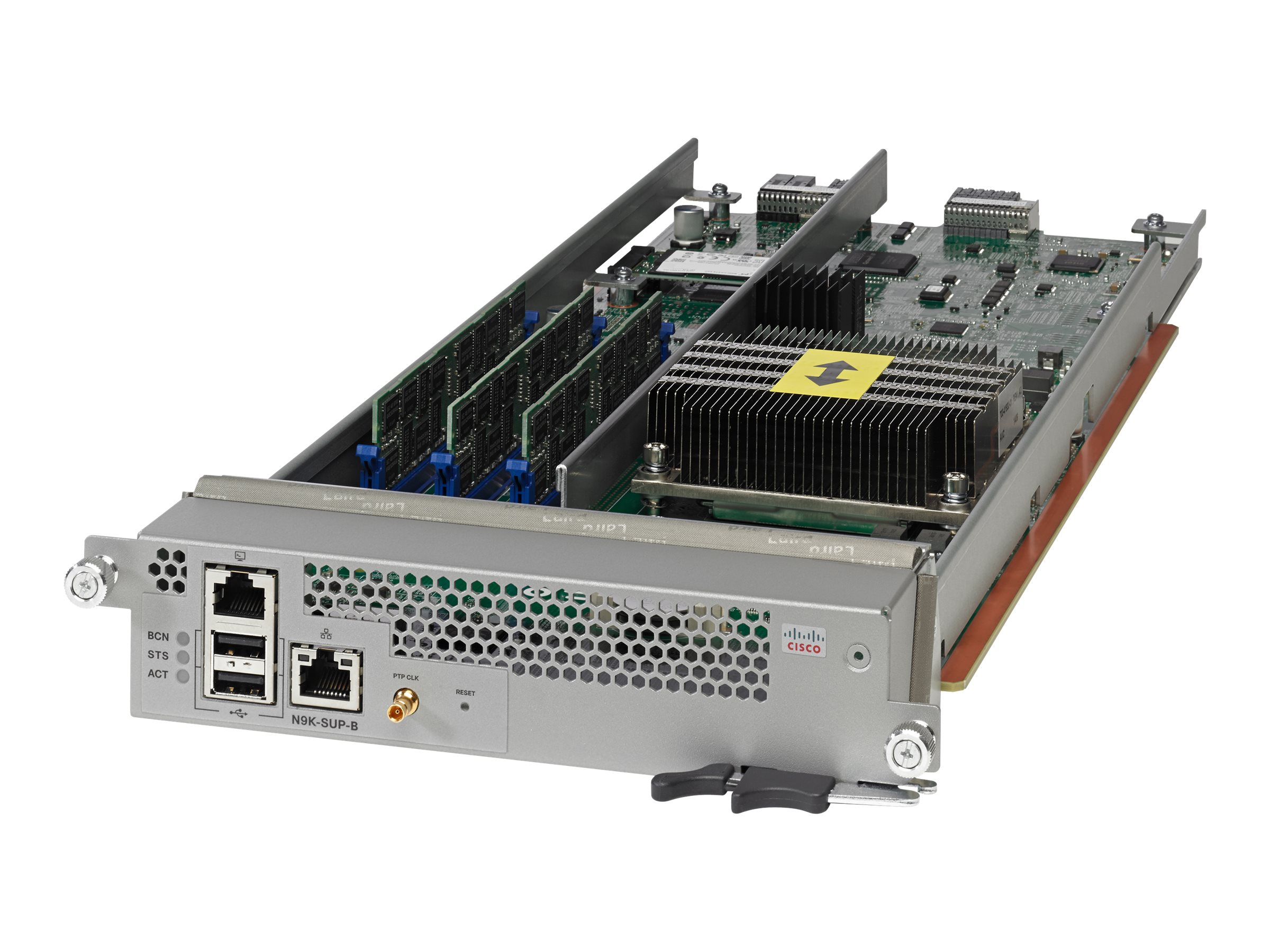 Cisco Nexus 9500 Supervisor B - Steuerungsprozessor - Plug-in-Modul - für Nexus 9504, 9504 Chassis Bundle, 9508, 9508 Chassis Bu